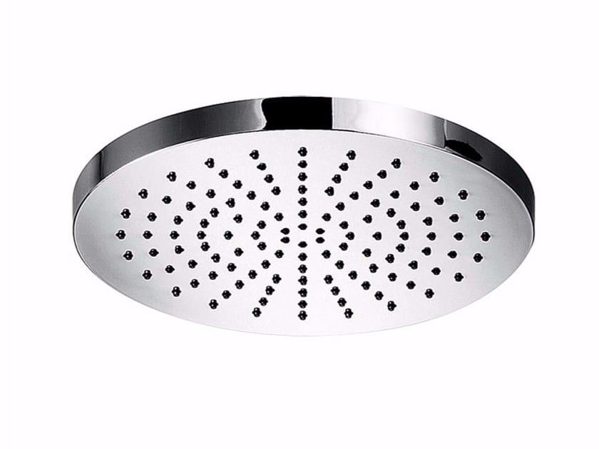 Tête de douche à effet pluie en ABS avec système anti-calcaire MYRING - F1611 by Rubinetteria Giulini