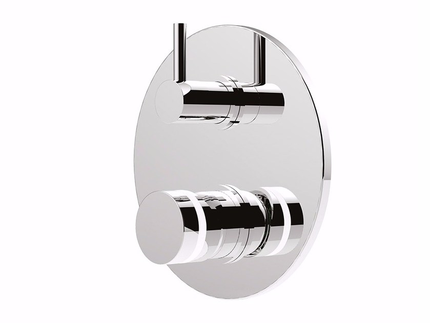 Shower mixer with diverter MYRING - FMR0013-3 by Rubinetteria Giulini