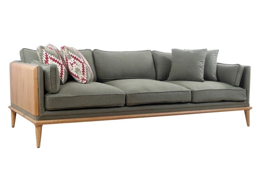 3 seater fabric sofa MYSIG | 3 seater sofa by ALANKARAM