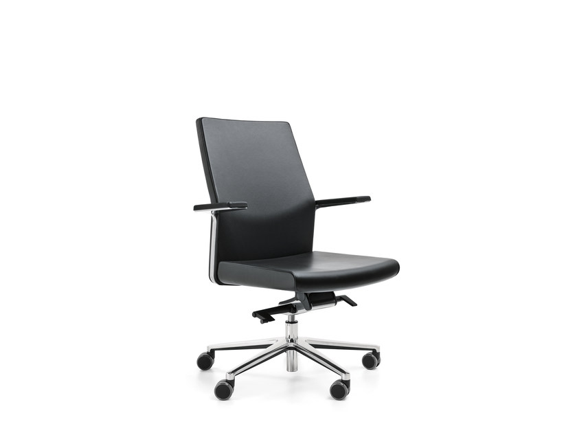 Swivel task chair with 5-Spoke base with armrests MYTURN 20S/20Z by profim