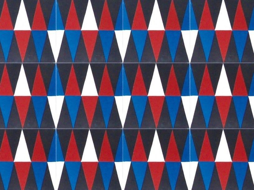 Cement wall/floor tiles N°27 | Wall/floor tiles by BEAUREGARD