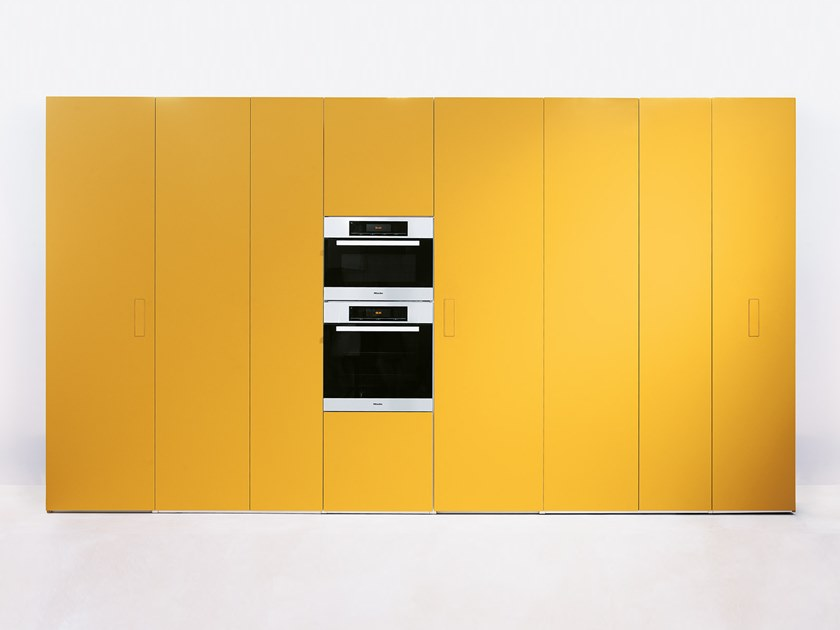 Kitchen unit with integrated handles N.O.W. SMART | Kitchen unit by Lago
