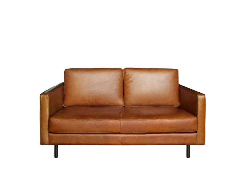 2 seater leather sofa N501 | 2 seater sofa by Ethnicraft