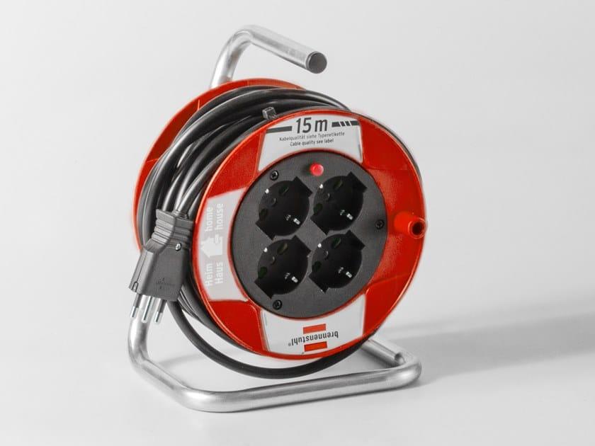 Avvolgitore industriale per cavi con spina NADC05006 by AKIFIX