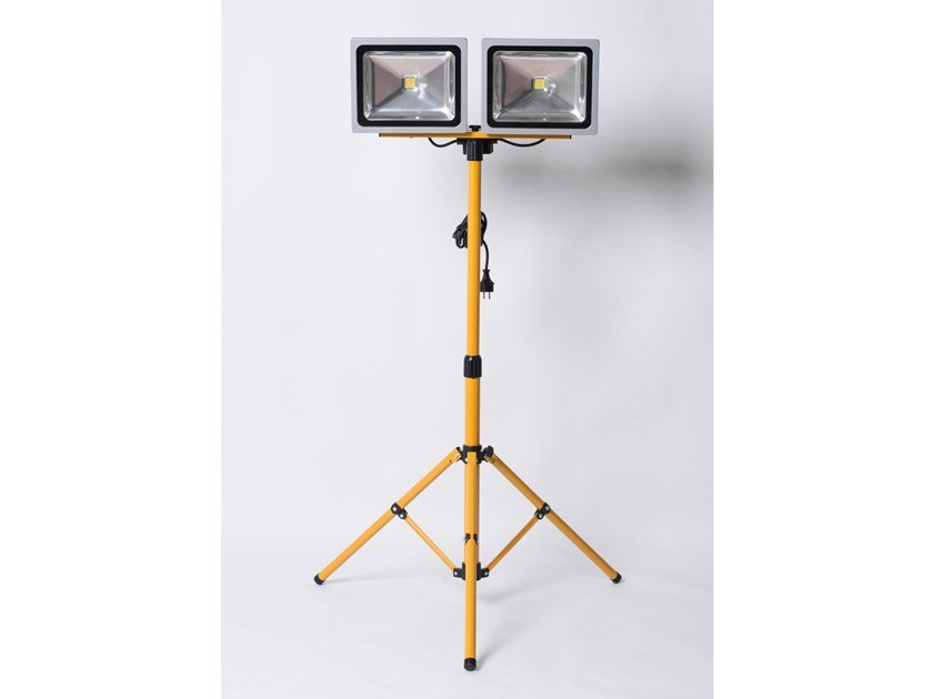 Doppia lampada telescopica a LED con treppiede NADC09011 by AKIFIX