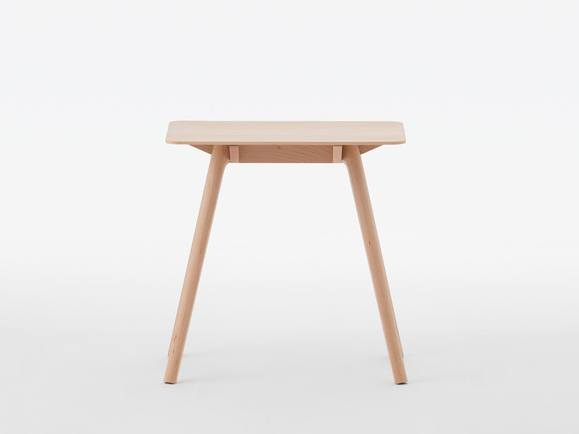Rectangular maple side table NADIA | Maple coffee table by MEETEE