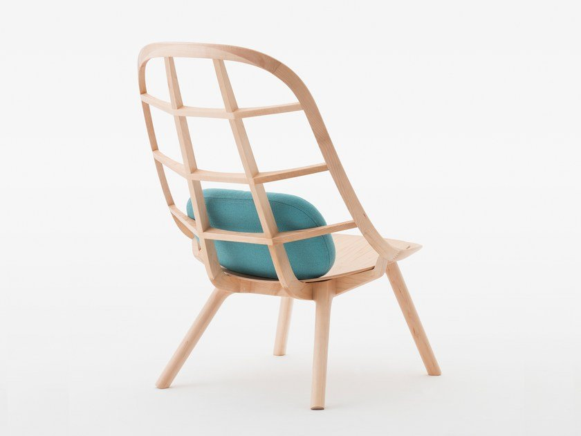 Maple easy chair NADIA | Maple easy chair by MEETEE