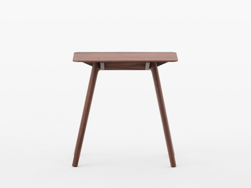 Rectangular walnut side table NADIA | Walnut coffee table by MEETEE
