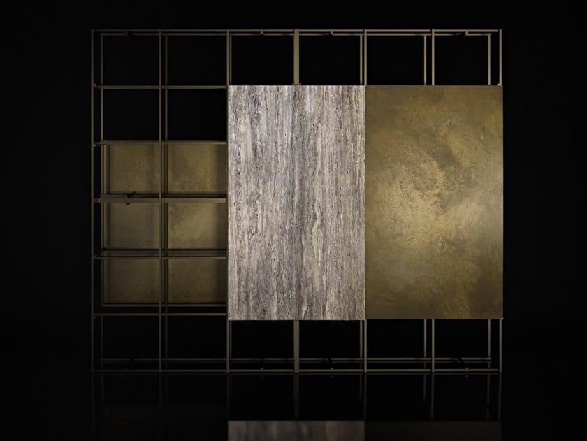 Metal bookcase NADIR by ENNE