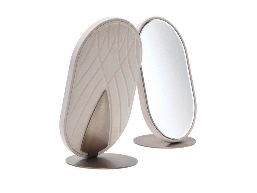 Countertop oval framed mirror NADIR by Smania