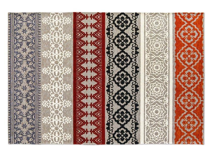 Patterned rectangular rug NADIRA by Calligaris
