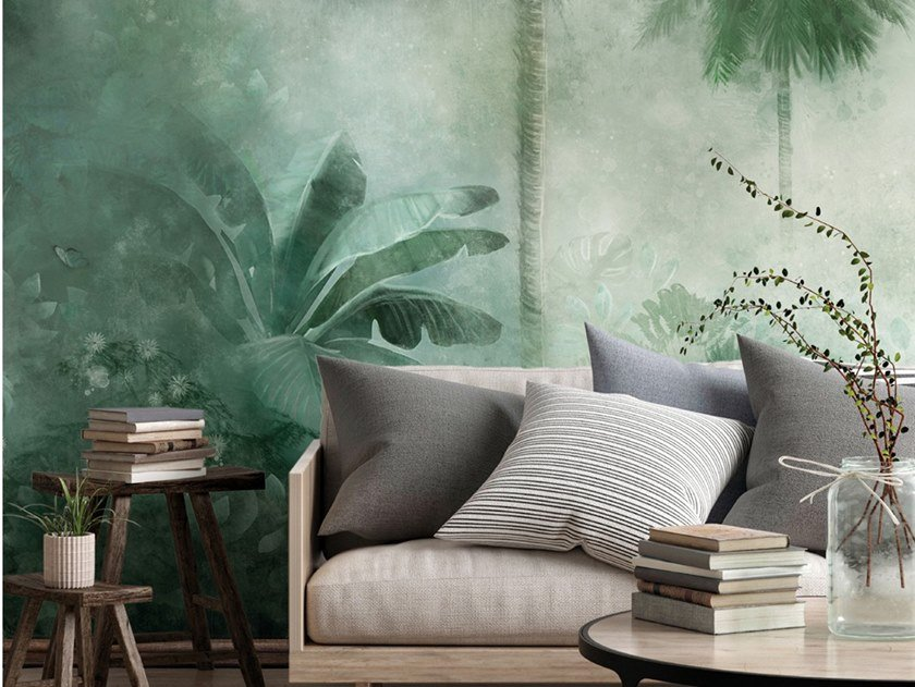 Ecological washable PVC free wallpaper NAMBILLO by Wallpepper