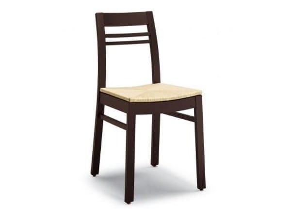 Beech chair NANITA by Cizeta L'Abbate