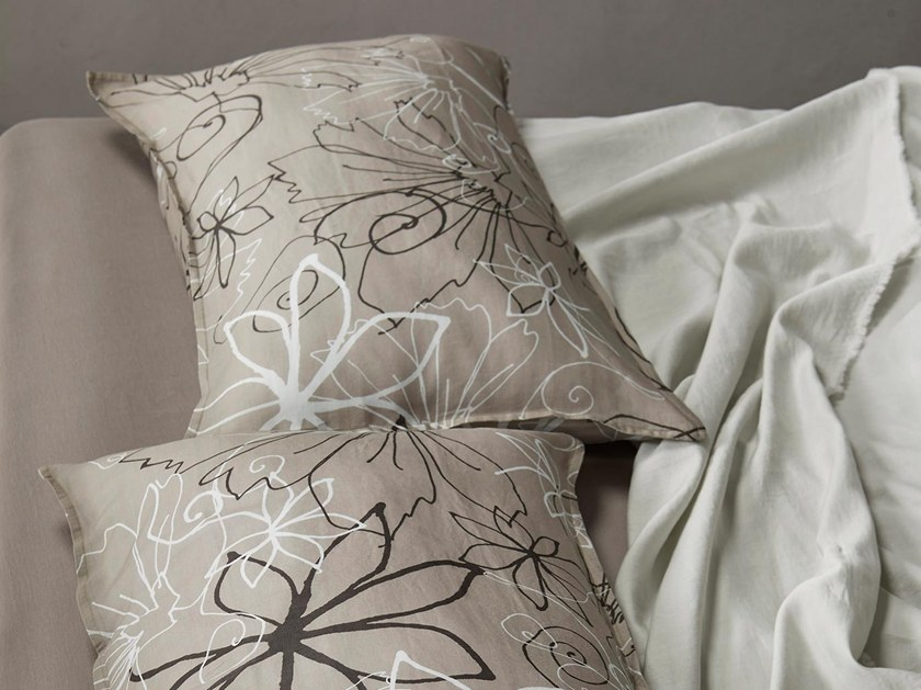 Ramié pillow cases NAP ASTER by Society Limonta