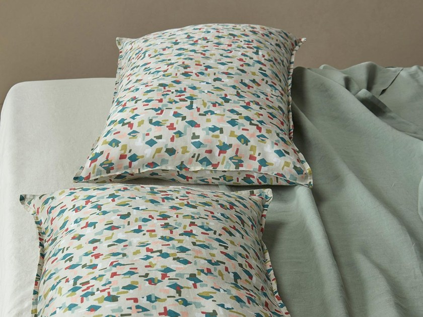 Ramié pillow cases NAP SHAPES by Society Limonta