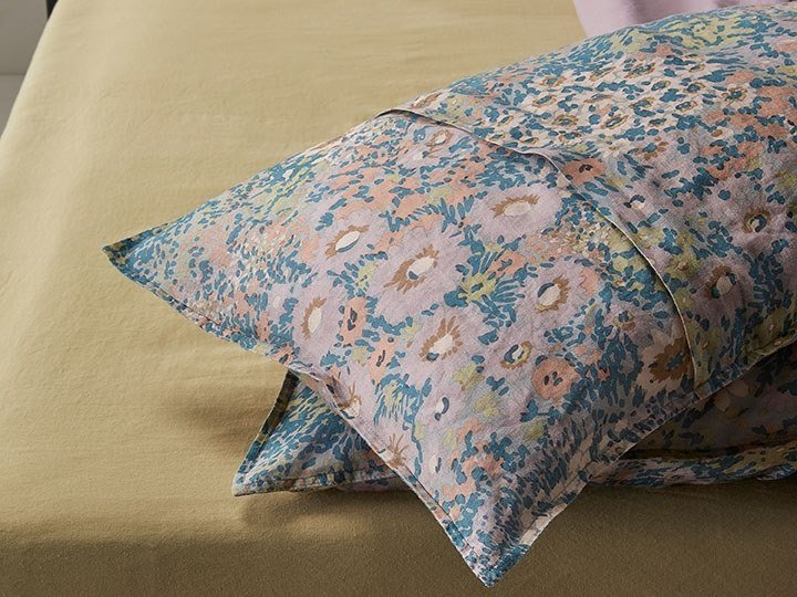 Pillow case with floral pattern NAP SPRING | Pillow case with floral pattern by Society Limonta