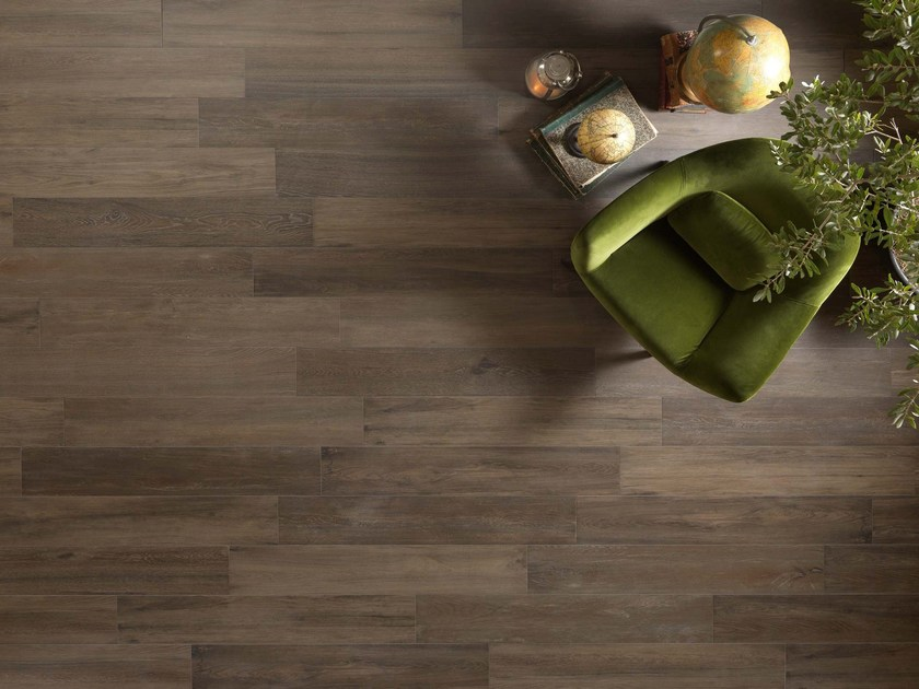 Wall/floor tiles with wood effect NAPAMI TANNÉ by NOVOCERAM