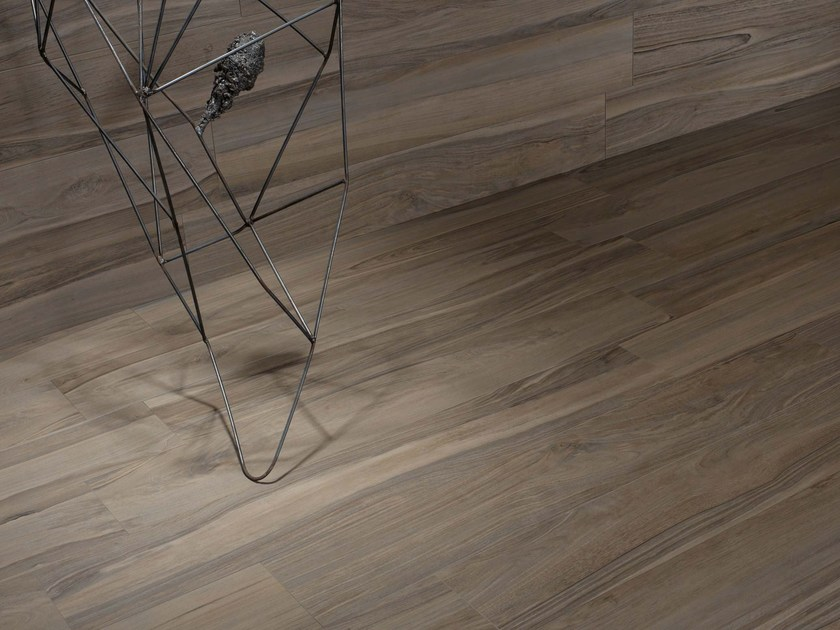 Wall/floor tiles with wood effect NAPAMI GRISÉ by NOVOCERAM
