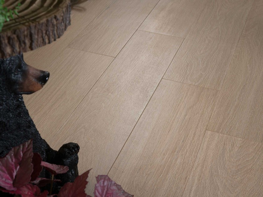 Wall/floor tiles with wood effect NAPAMI BROSSÉ by NOVOCERAM