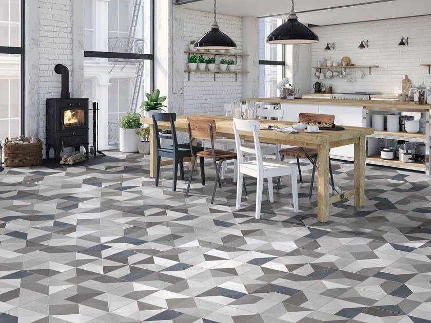Porcelain wall/floor tiles NAPOLI CHIC by ITT Ceramic