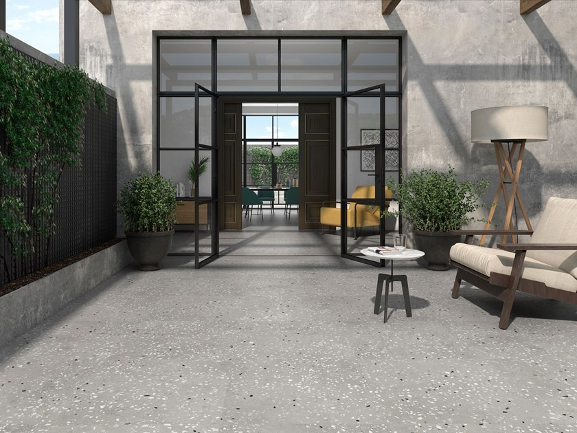 Porcelain stoneware wall/floor tiles with stone effect NAPOLI by ITT Ceramic