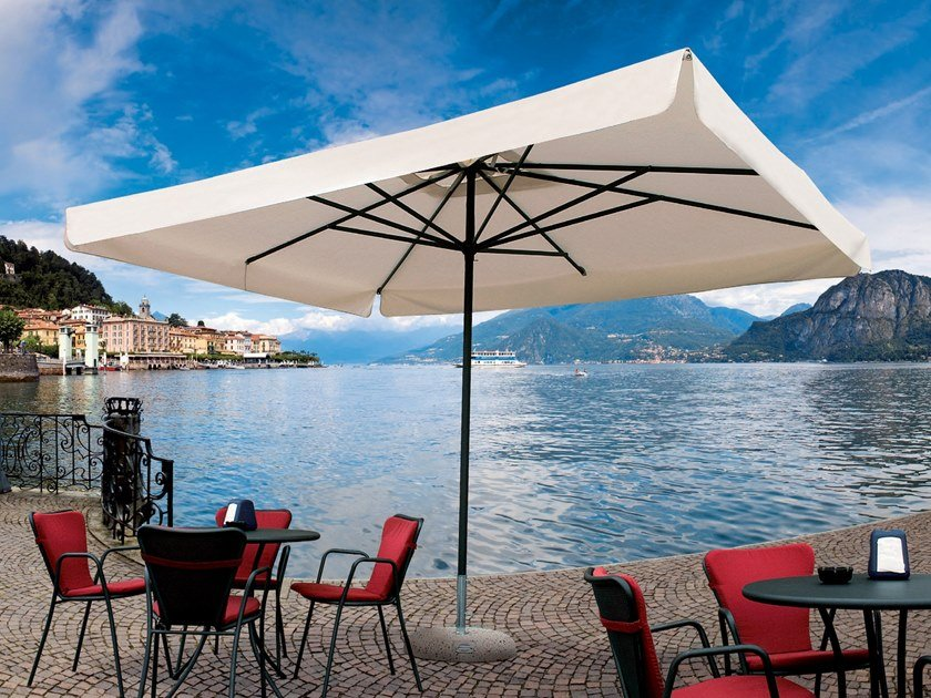 Powder coated aluminium Garden umbrella NAPOLI STANDARD | Garden umbrella by Scolaro Parasol