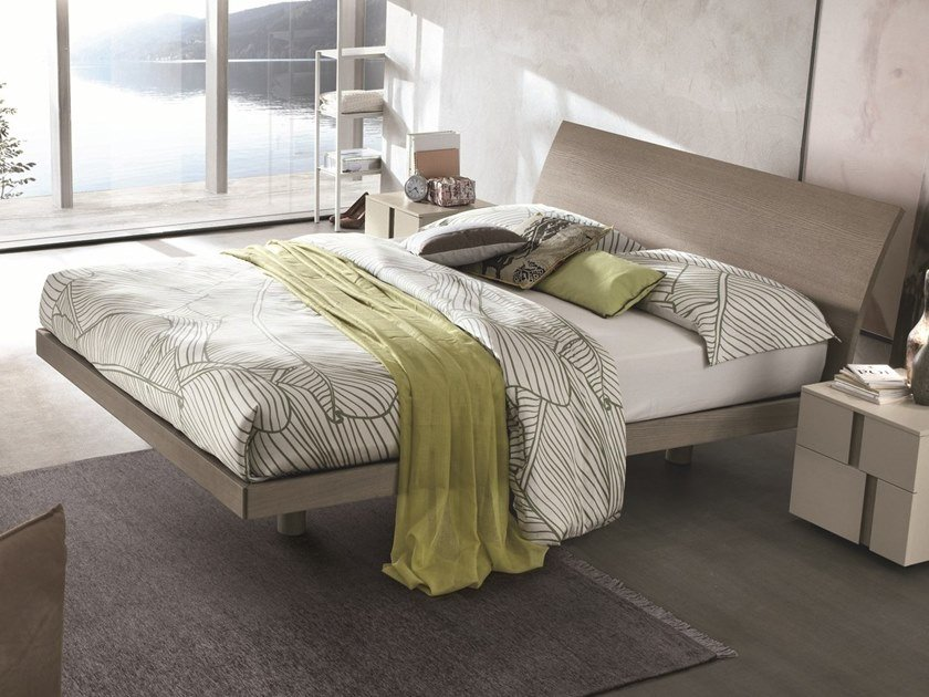 Ash double bed NARCISO | Ash bed by Gruppo Tomasella
