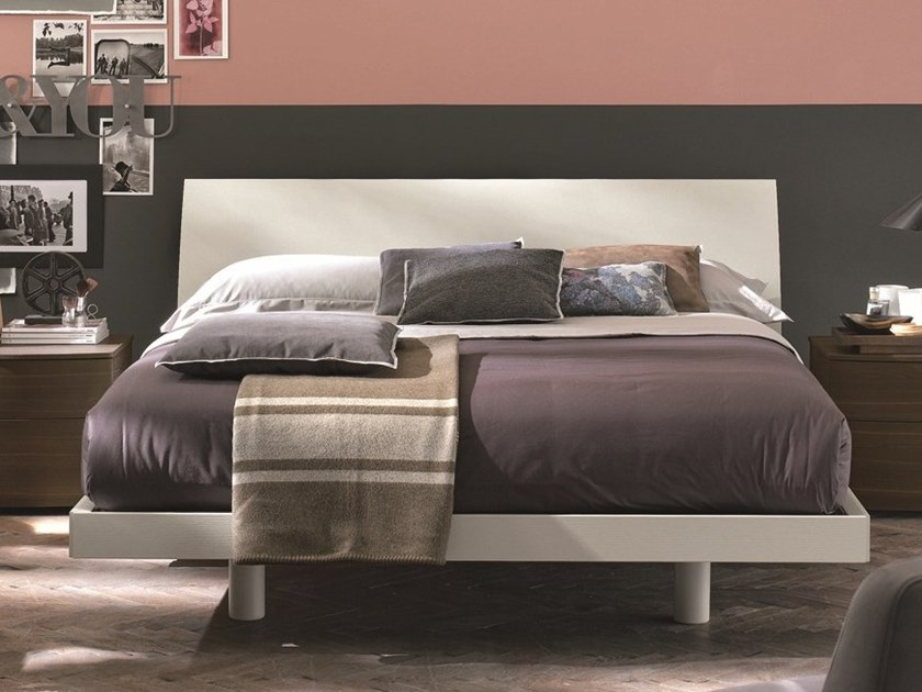 Lacquered double bed NARCISO | Lacquered bed by Gruppo Tomasella