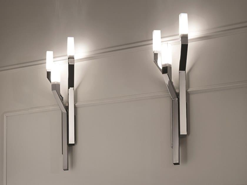LED metal wall light NARITA | Wall light by Longhi