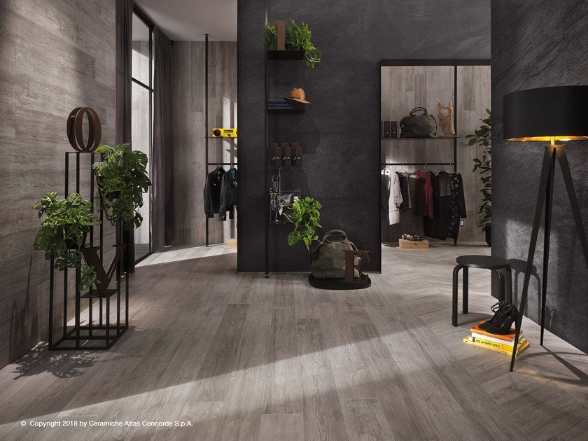 Wall/floor tiles with wood effect NASH by Atlas Concorde