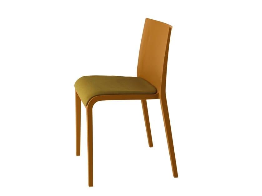 Polypropylene chair NASSAU 533N by Metalmobil
