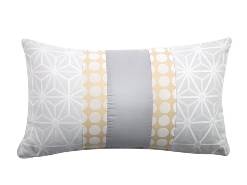 Rectangular fabric cushion NASTRO by l'Opificio