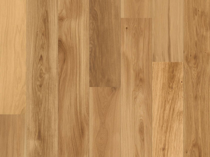 Brushed oak parquet NATURAL PRIME OAK by Pergo