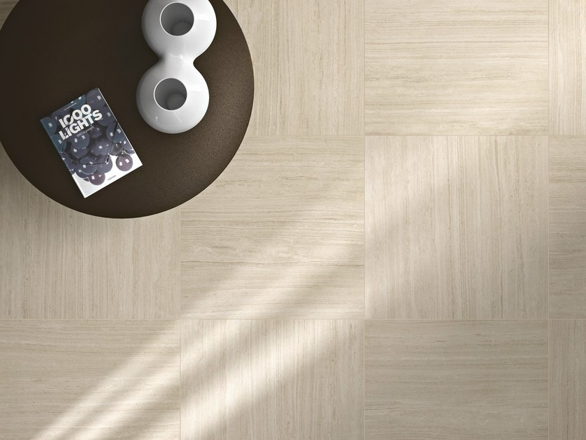 Porcelain stoneware flooring with stone effect NATURAL | Flooring by Ragno