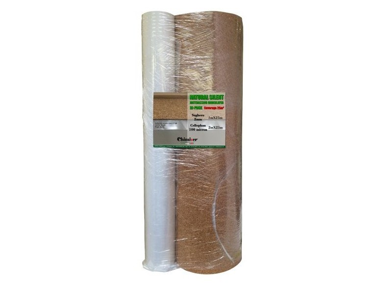 Impact insulation system NATURAL SILENT by Chimiver Panseri