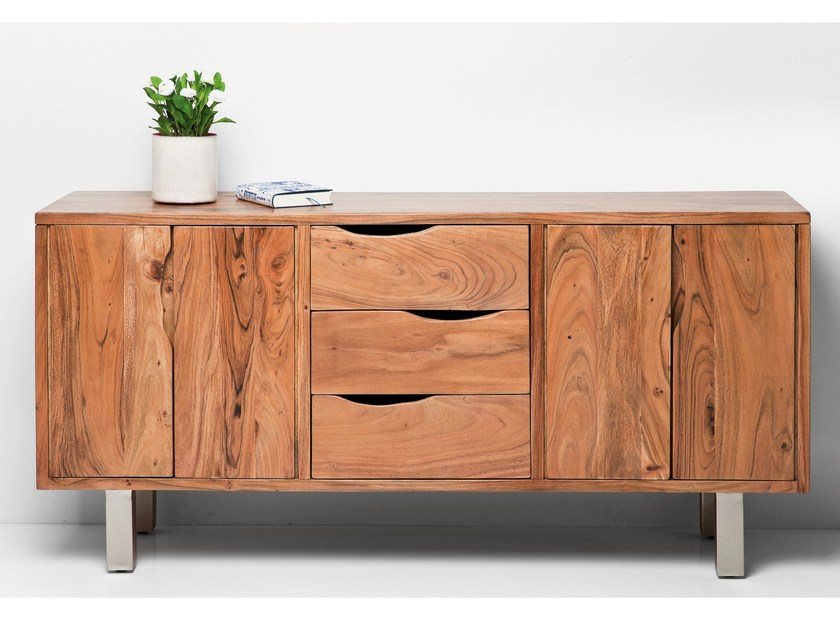 Wooden sideboard with drawers NATURE LINE | Sideboard by KARE-DESIGN
