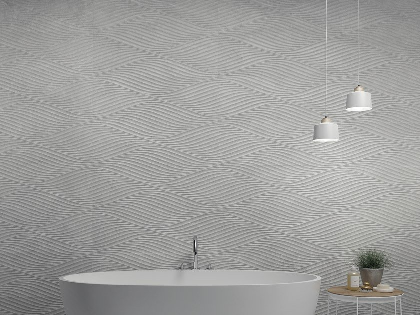 White-paste 3D Wall Tile NATURE by PERONDA