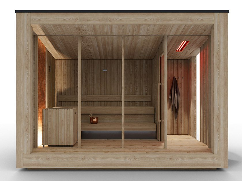 Outdoor sauna NatureSauna by STARPOOL