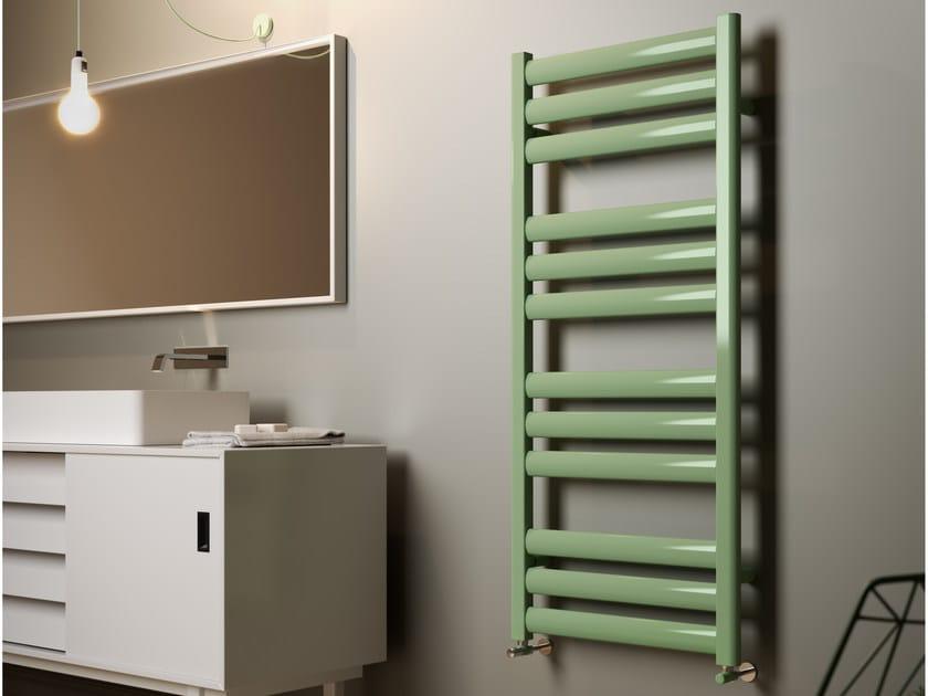 Vertical wall-mounted towel warmer NAUSICA by CORDIVARI