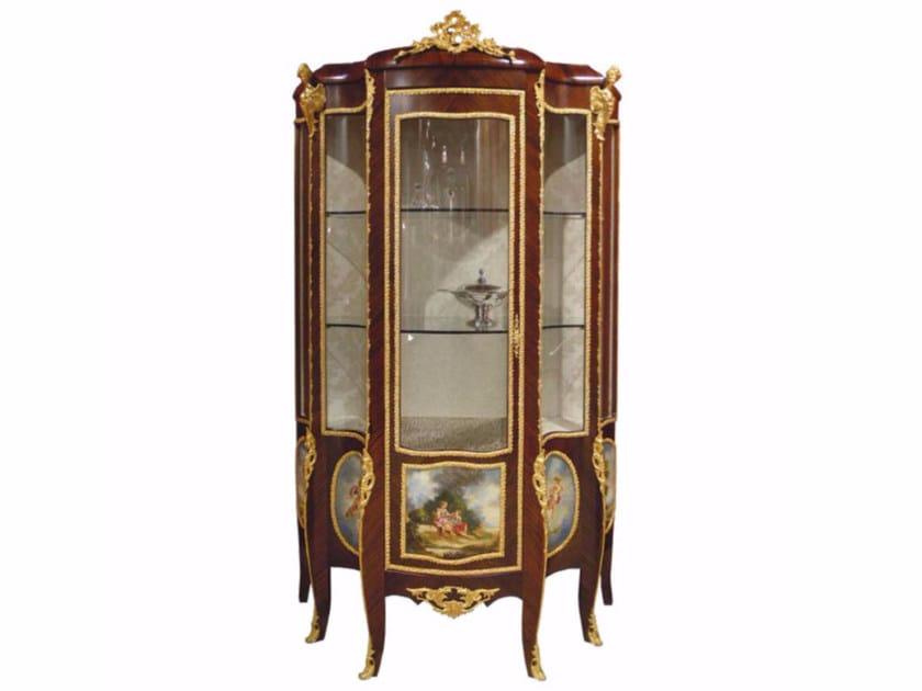 Wooden display cabinet NAUSICA by HEBANON