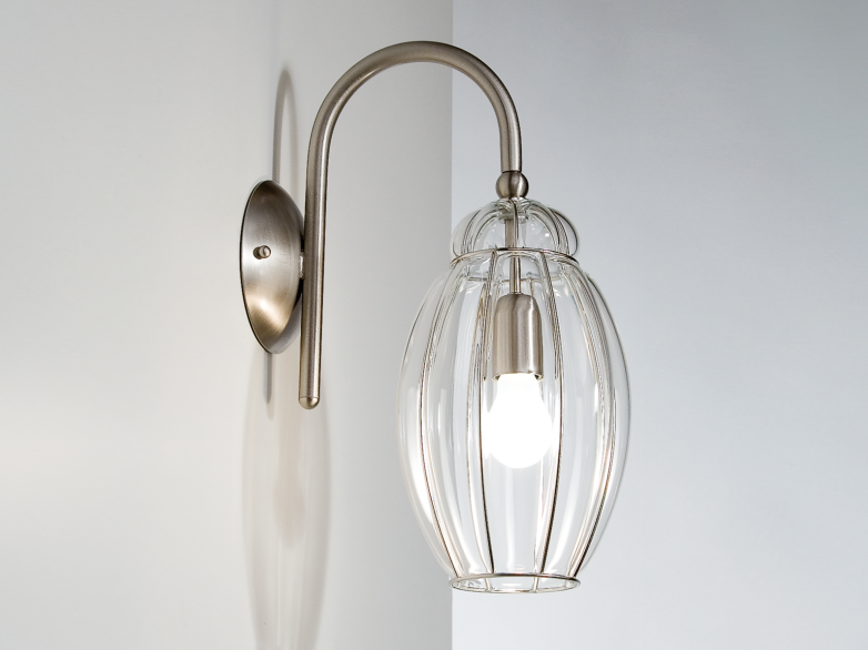 Murano glass wall lamp NAUTILUS RB 203 by Siru