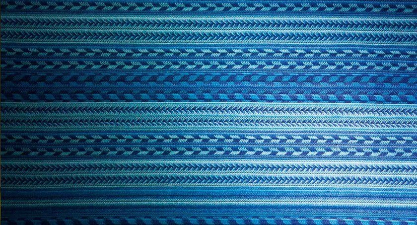 Rectangular rug with geometric shapes NAVAJO by paola lenti