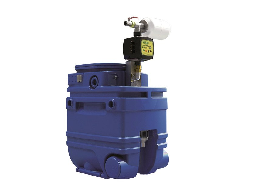 Mounting kit for water collection and pressurization NBB by Dab Pumps
