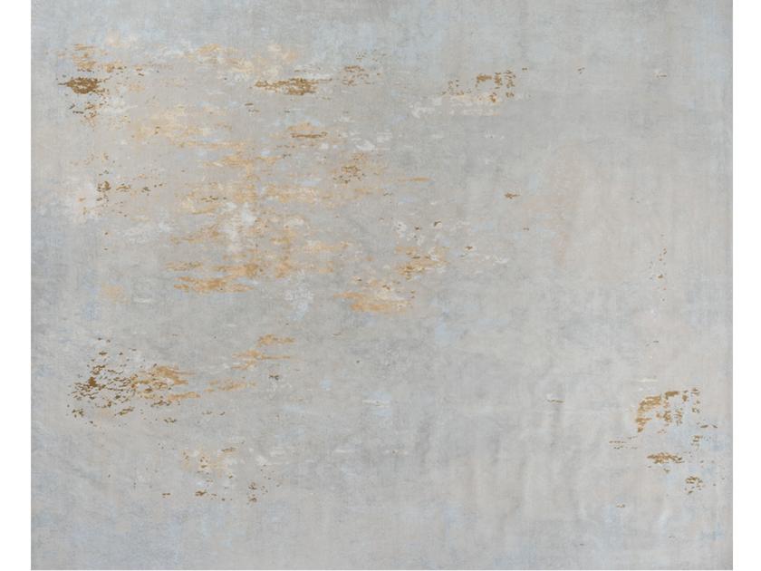 Handmade rectangular rug NEBULA TOSCANE by EDITION BOUGAINVILLE