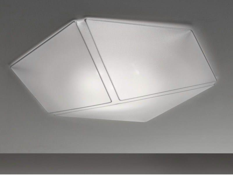 Plafoniera Tessuto Elasticizzato : Lampada da parete soffitto in tessuto necky by axolight