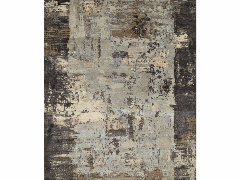 Patterned rug NEEV ESK-439 Ashwood/Frost Gray by Jaipur Rugs