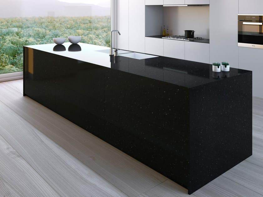 Cosentino NEGRO STELLAR. Silestone® Kitchen Worktop
