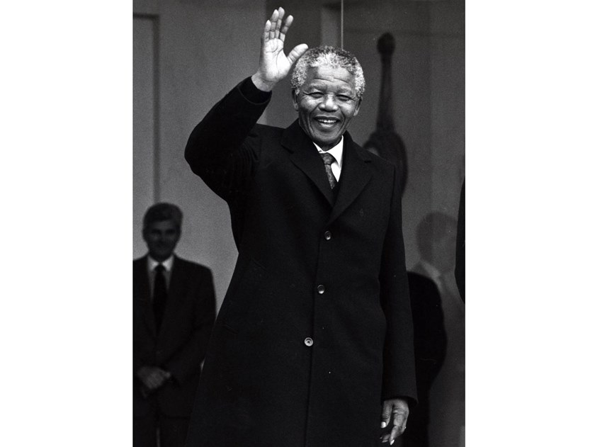 Stampa fotografica NELSON MANDELA by Artphotolimited