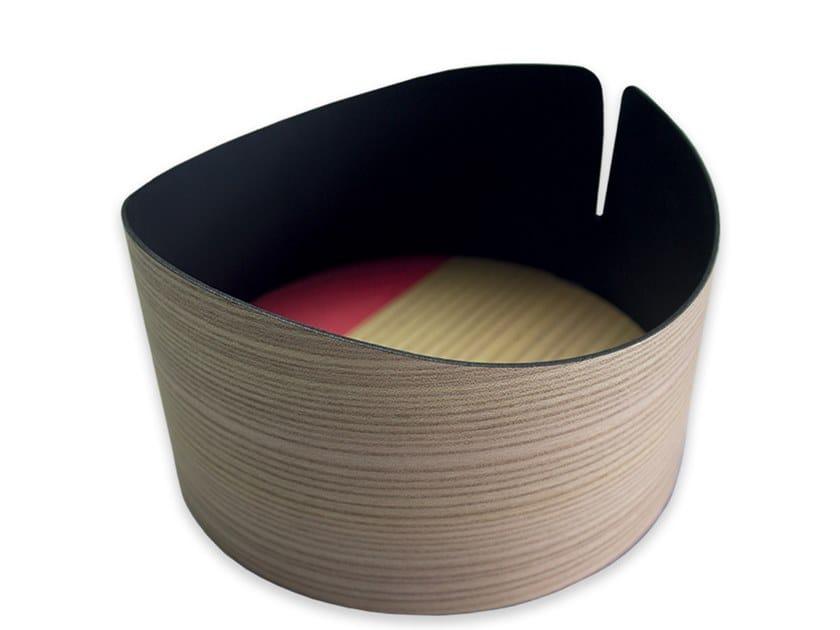 Contenitore in legno NELUMBO COLORS RED | Contenitore by LIGNIS®