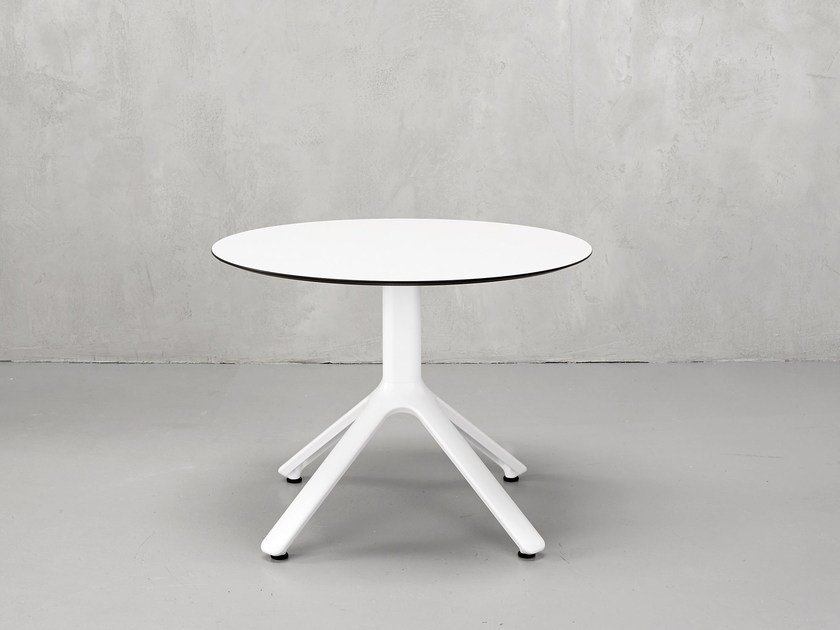 Round Aluminium Bistro Side Table NEMO | Round Coffee Table By SCAB DESIGN